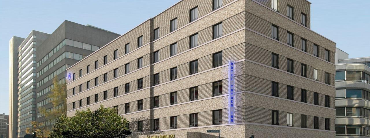 So soll's aussehen: Das geplante Toyoko Inn an der Wilhelm-Leuschner-Straße in Frankfurt am Main
