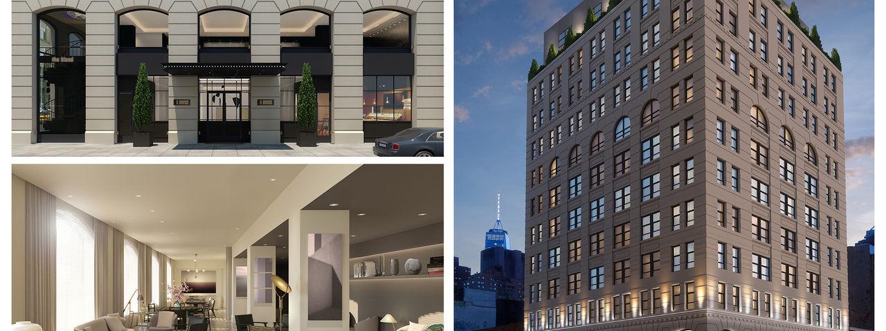 aby rosen er ffnet designhotel in new york ahgz hoteldesign. Black Bedroom Furniture Sets. Home Design Ideas