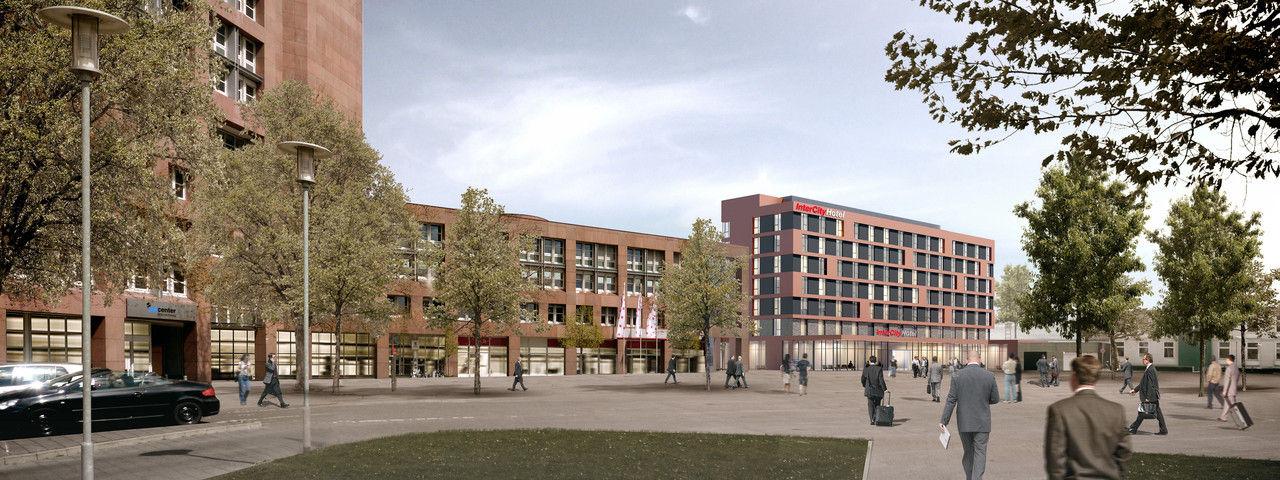 Eröffnet bald: Das Intercityhotel Braunschweig