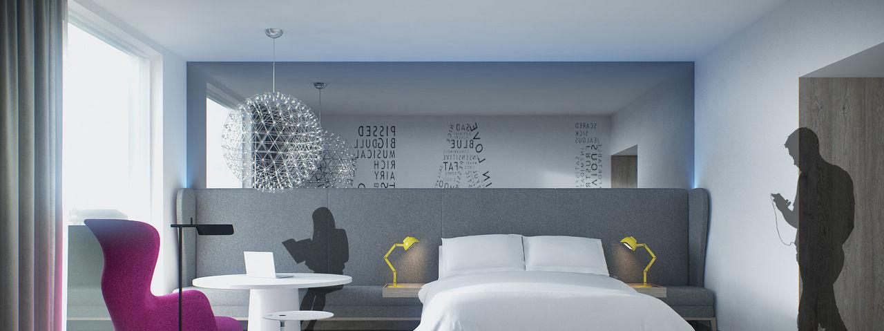 Einrichtungsbeispiel: So kann ein Zimmer nach dem Blupint-Schema aussehen