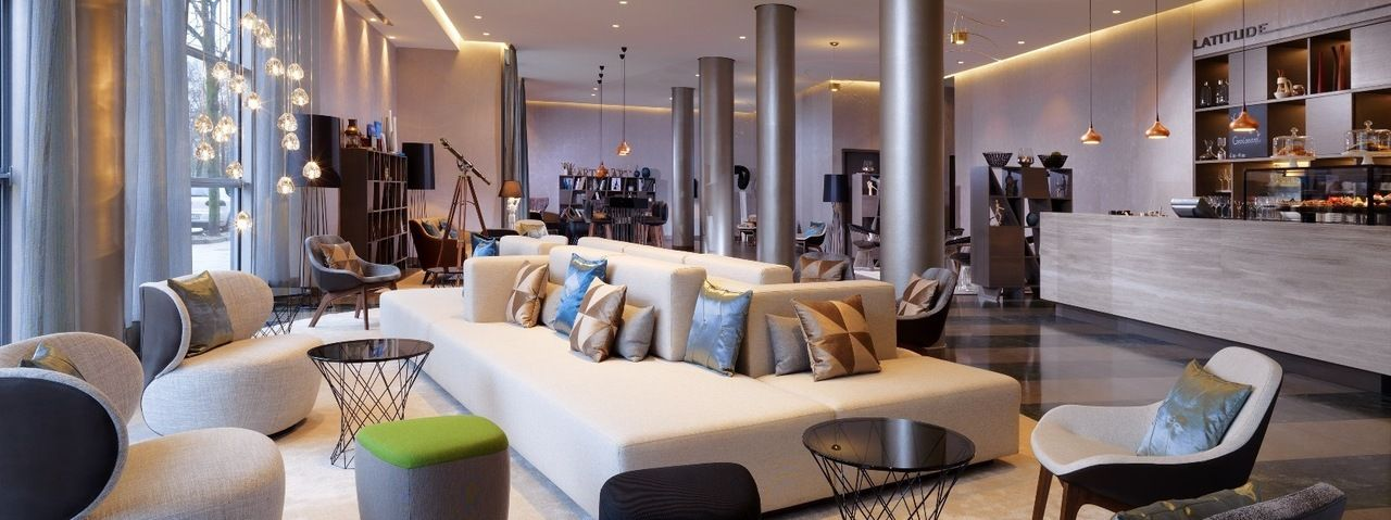 Neue Lobby: Gäste des Hotels als auch Hamburger sollen sich hier wohlfühlen
