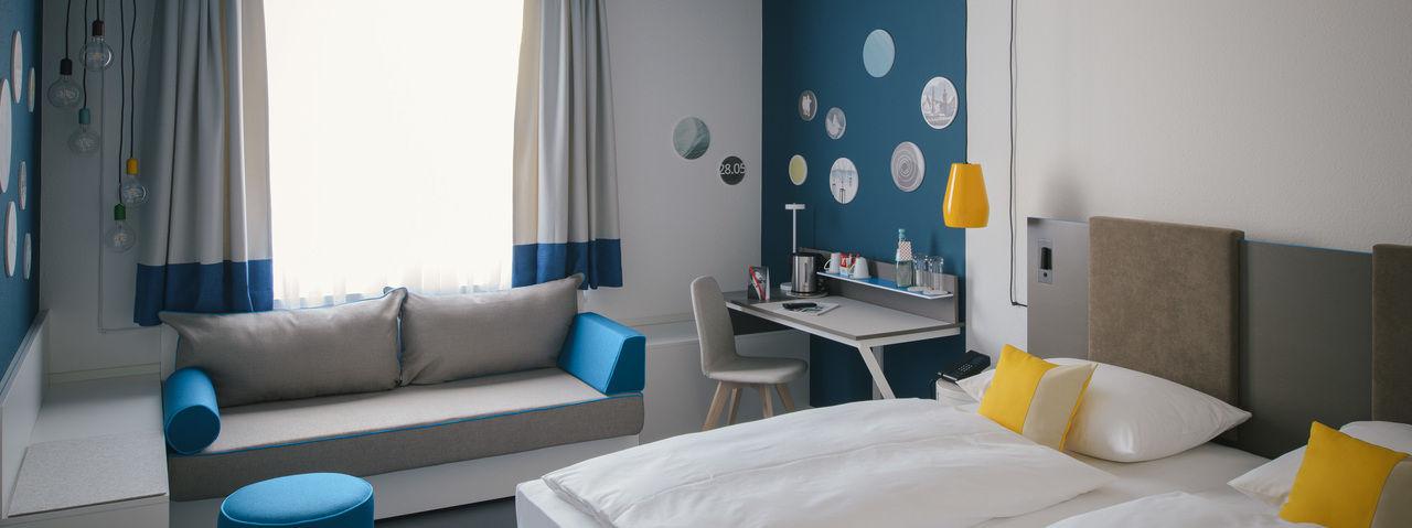 Modern: Die Zimmer sind frisch renoviert
