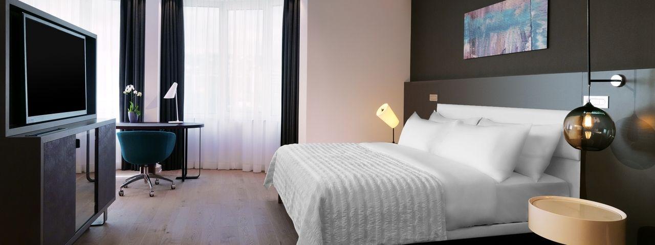 Wohnlich-elegant: Der neue Look der Executive-Zimmer und Suiten