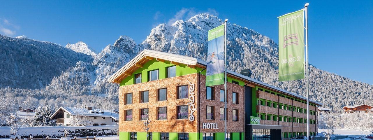 Typische Explorerbauweise: So ähnlich wie hier das Hotel in Berchtesgaden soll auch das Neue in St. Johann aussehen
