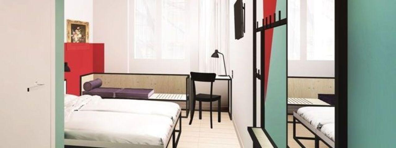 Meininger plant hotel in leipzig ahgz hoteldesign for Design hotel leipzig
