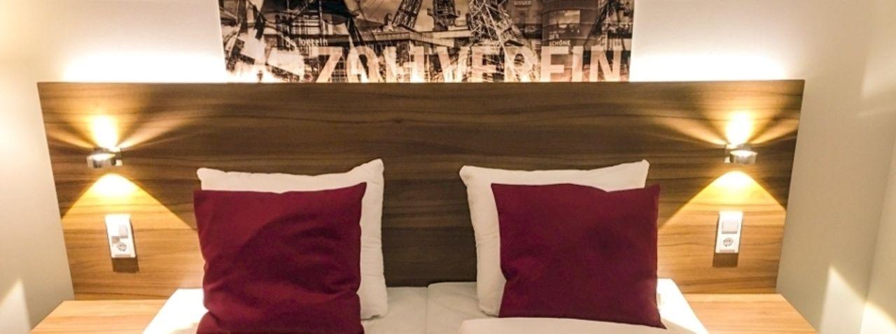 Ghotel hotel living essen kurz vor dem start ahgz for Essen design hotel