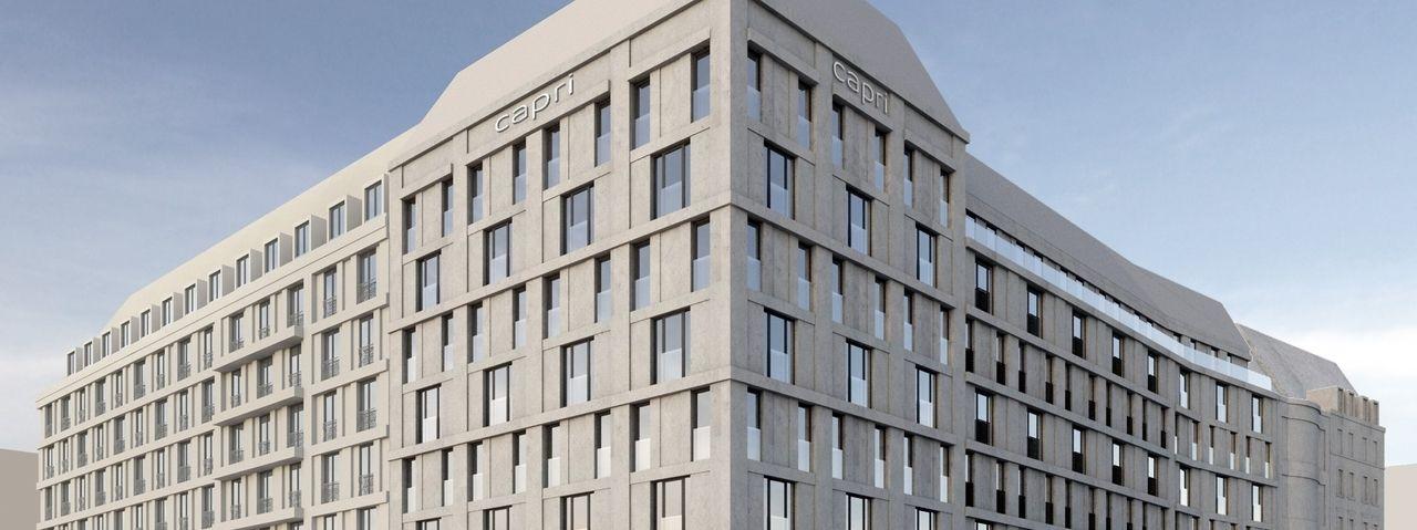 Zwei neue hotels f r leipzig ahgz hoteldesign for Design hotel leipzig