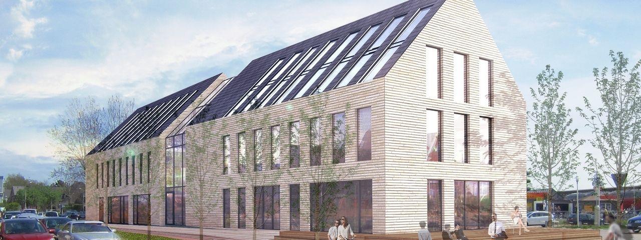 So soll's aussehen: Ein Rendering des künftigen Bett & Bude Boardinghouse auf Sylt