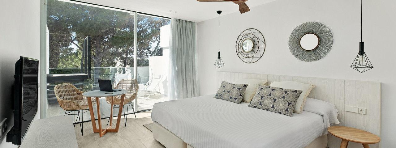 Freundlich: Die Zimmer im neuen Barceló-Haus auf Ibiza.