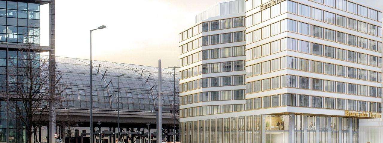 So soll's aussehen: Die Pläne für das Barceló Hotel am Berliner Hauptbahnhof