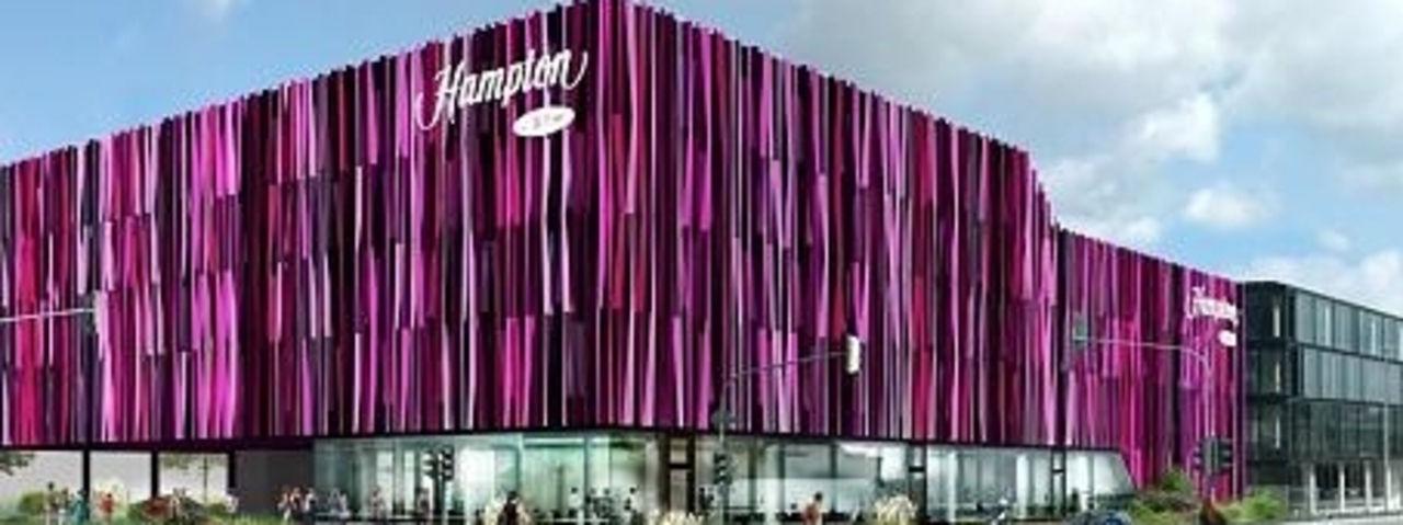 Aachen bekommt ein hampton by hilton ahgz hoteldesign for Designhotel aachen