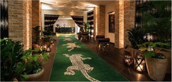 Fotostrecke Exotisch Der jadegrüne Teppich von Diane von
