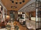Retro-Chic: Die Lobby des neuen Titanic Hotels