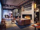 Cool aber gemütlich: Der Lounge-Bereich im Moxy New Orleans läd zum chillen und spielen ein