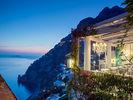 Schöne Aussicht: Die Villa Franca mit Rundumblick auf die Bucht von Positano