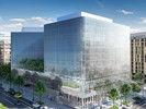 Spektakulär: Die Glasfassade des neuen Conrad Washington