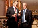 Gaffel-Geschäftsleitung: Heinrich Philipp Becker (links) und Heinrich Becker.
