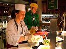 Lecker essen: Die Zusammenarbeit mit Sternekoch Otto Koch und Ernährungswissenschaftlern prägt die Küche