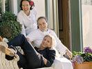 Schwestern-Trio: (von oben) Christine, Alexandra und Annette Reck