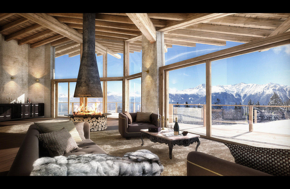 Fotostrecke neues suitenhotel sir henry in seefeld ahgz for Design hotel seefeld