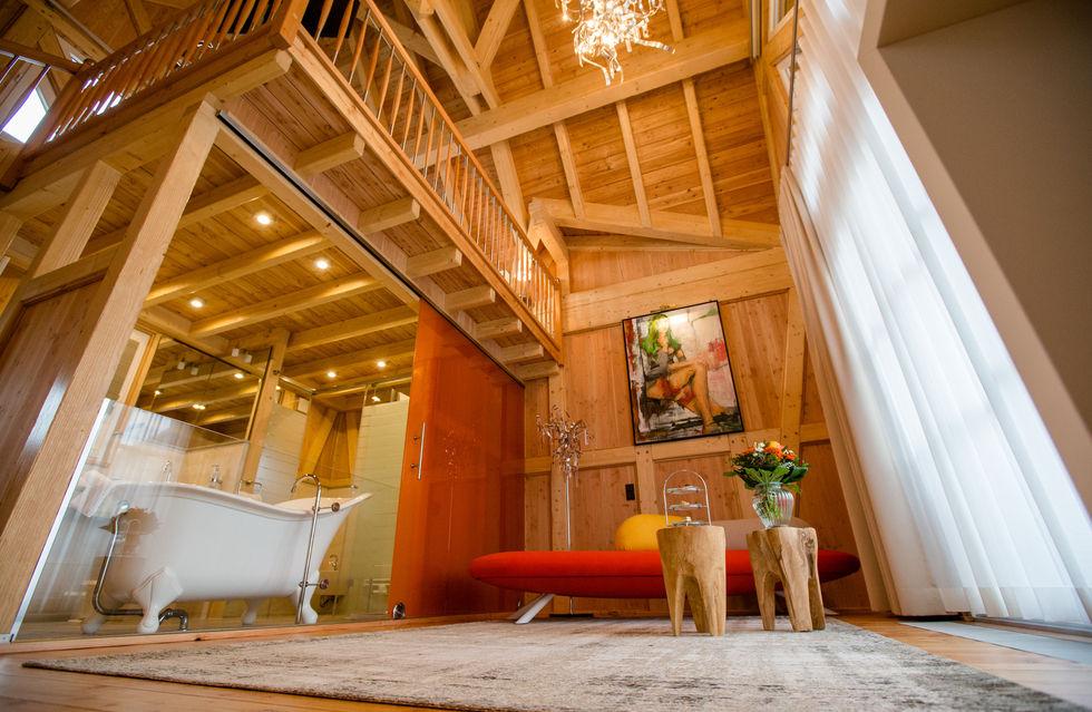 fotostrecke: seehotel niedernberg gönnt sich ein chalet - ahgz,