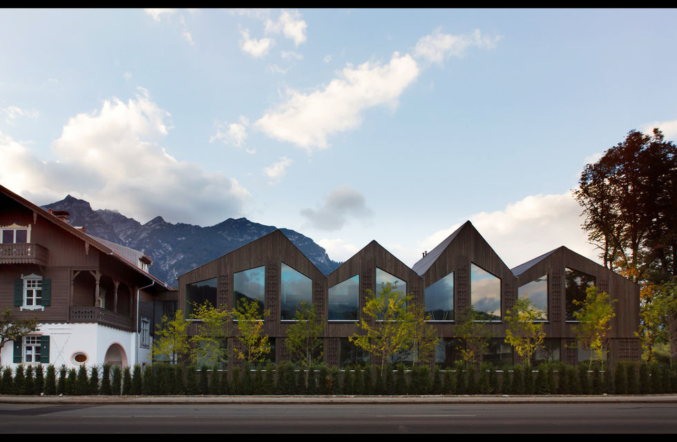 Fotostrecke schickes quartier in garmisch ahgz hoteldesign for Schickes hotel