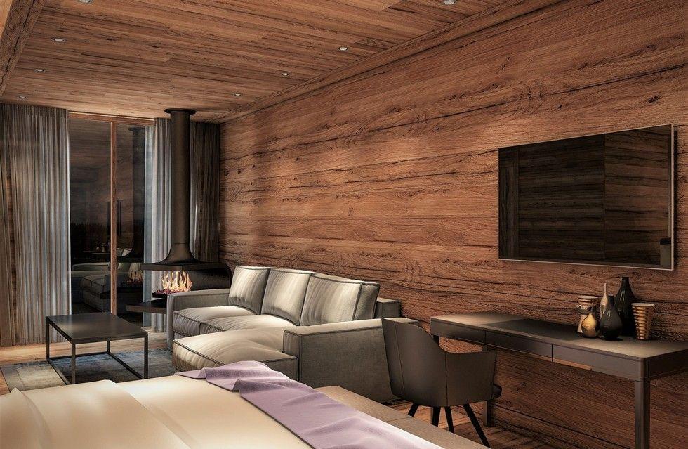 Fotostrecke am achensee entsteht eine suiten lodge ahgz for Design hotel achensee