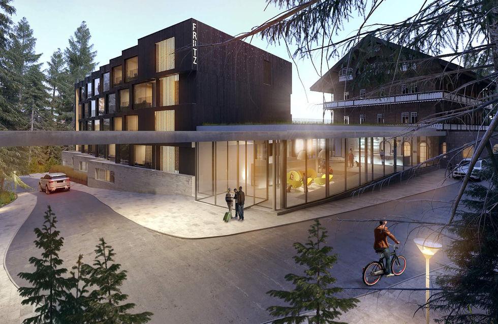 Fotostrecke das fritz lauterbad bringt budgetdesign in for Design hotel schwarzwald