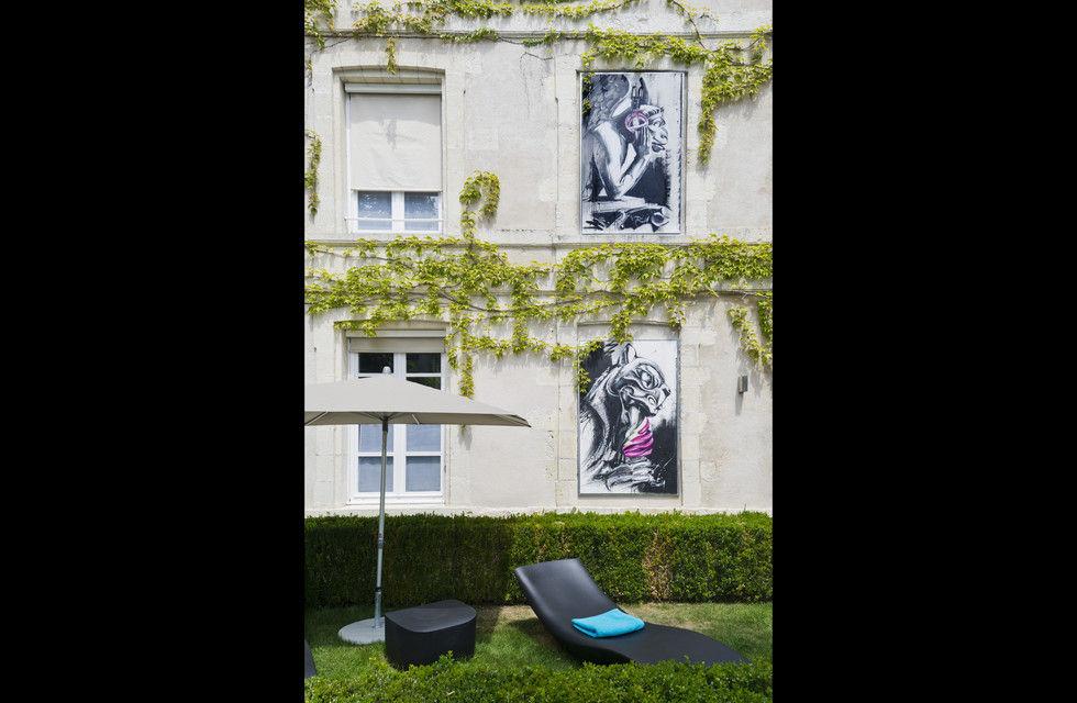 fotostrecke la monnaie art spa hotel la rochelle ahgz hoteldesign. Black Bedroom Furniture Sets. Home Design Ideas
