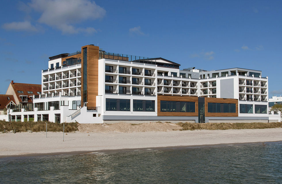 fotostrecke das bayside hotel in scharbeutz ahgz. Black Bedroom Furniture Sets. Home Design Ideas