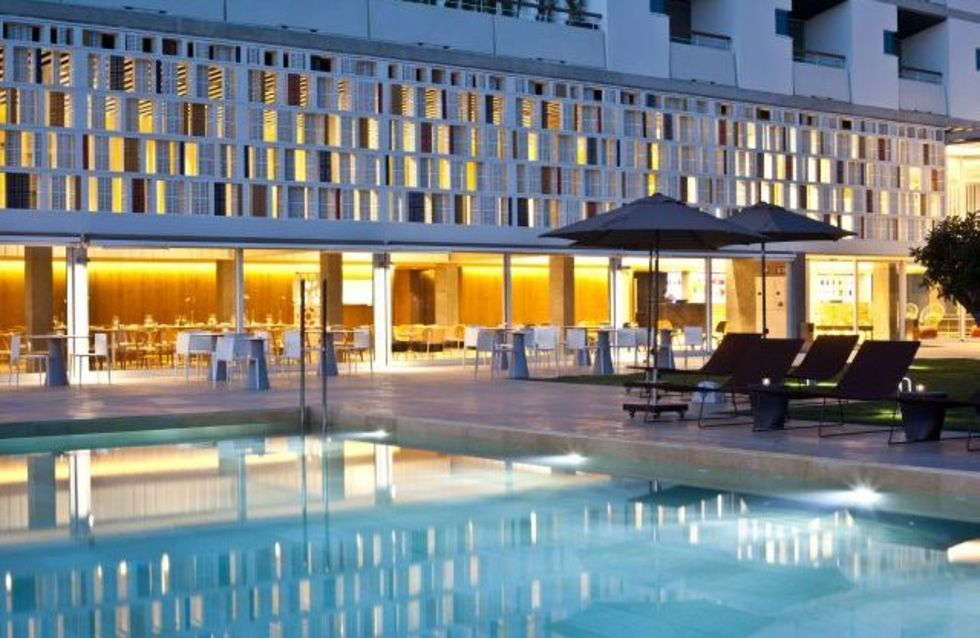 Fotostrecke neues designhotel auf mallorca ahgz hoteldesign for Kapfer pool design mallorca