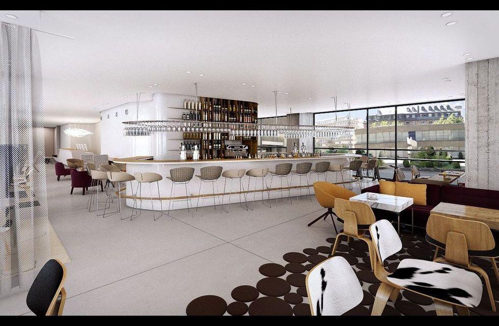 fotostrecke facelift f r wyndham grand frankfurt ahgz hoteldesign. Black Bedroom Furniture Sets. Home Design Ideas
