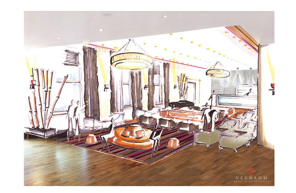 fotostrecke andreas neudahm gestaltet leonardo in mannheim um ahgz hoteldesign. Black Bedroom Furniture Sets. Home Design Ideas