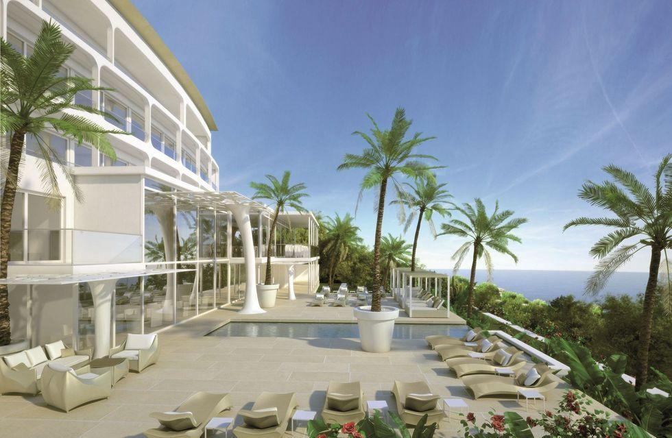 Fotostrecke portals hills boutique hotel geht 2015 an den for Mallorca design hotel