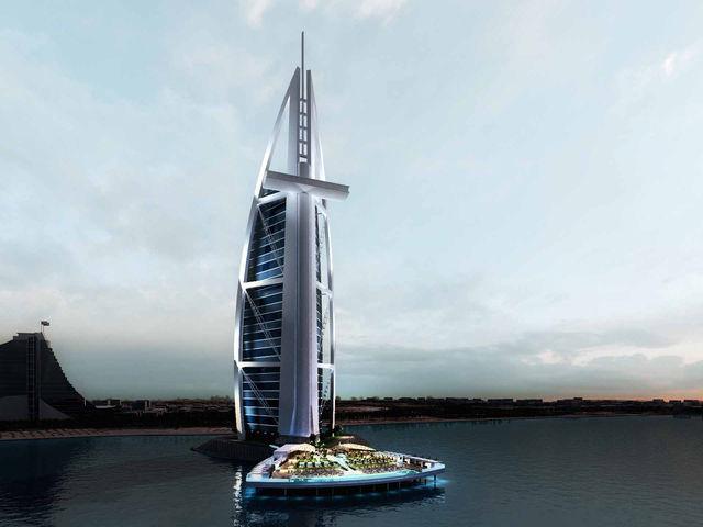 Burj Al Arab bekommt ein Sonnendeck