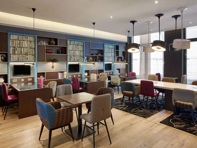 Stylisch: Die Lounge in Frankfurt