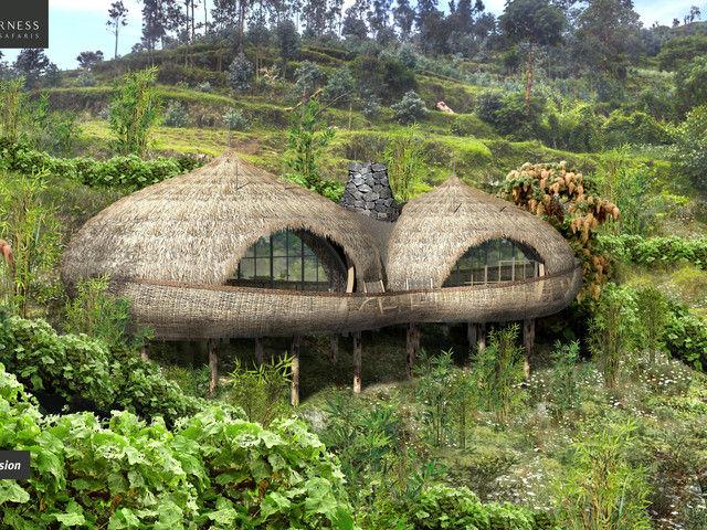 Die Bisate Lodge Ruanda in Bildern