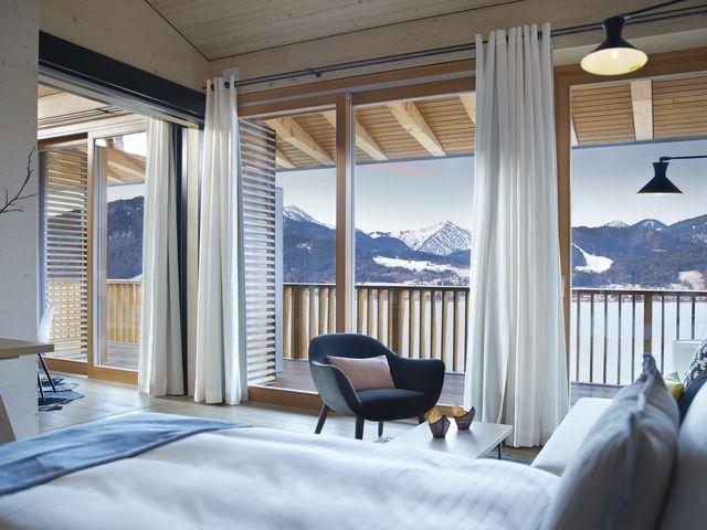 Luxus in neuem Format: Das Hotel das Tegernsee bietet jetzt auch Aufenthalte in geräumigen Apartments an