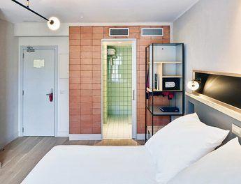 Modern und geradlinig: Die Zimmer im Hotel Brummell