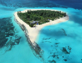 Luxus pur: das neue Privatinselresort Thanda Island