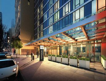 Urban: Das Hotel wird über 313 Zimmer verfügen
