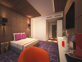Erstes fourside hotel startet in braunschweig ahgz for Design hotel braunschweig