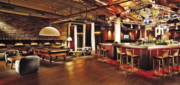 Schn de halle wird trendige lounge allgemeine hotel und for Trendige hotels