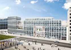 Blick zum Dom: Den genißen die Mitarbeiter von HRS im neuen Firmensitz