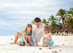 Langfristig geplant: Der Familienurlaub wird gern lange im Voraus gebucht