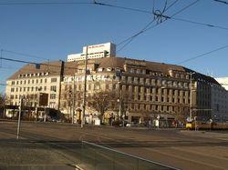 Steht derzeit leer: Das Leipziger Hotel Astoria