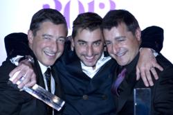 Platz 1: Die Brüder Joan, Josep and Jordi Roca mit ihrem Restaurant El Celler de Can Roca