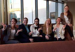 Frauenpower beim Casting: Die Azubis vom Hilton Mainz