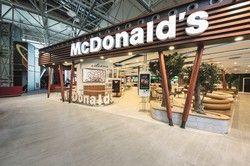Neues Konzept: Am Flughafen in Frankfurt ist das McDonald's