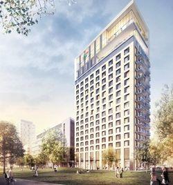 So soll's aussehen: Die Visualisierung des geplanten 25hours Hotels in Düsseldorf